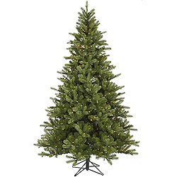 9 Foot King Spruce Artificial Christmas Tree 850 DuraLit Clear Lights