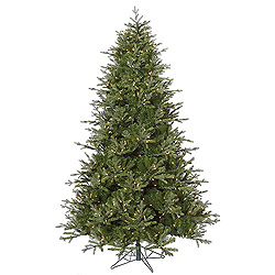 7.5 Foot Madison Frasier Artificial Christmas Tree 750 DuraLit Clear Lights