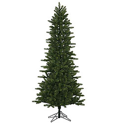 6.5 Foot Kennedy Fir Slim Artificial Christmas Tree Unlit