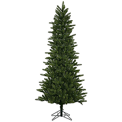 6.5 Foot Kennedy Fir Slim Artificial Christmas Tree 400 LED Warm White Lights