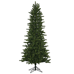 8.5 Foot Kennedy Fir Slim Artificial Christmas Tree Unlit