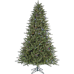 4.5 Foot Kennedy Fir Artificial Christmas Tree 250 LED Multi Lights