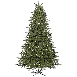 7.5 Foot Kennedy Fir Artificial Christmas Tree 650 LED Warm White Lights