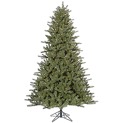 9 Foot Kennedy Fir Artificial Christmas Tree 1000 DuraLit Clear Lights