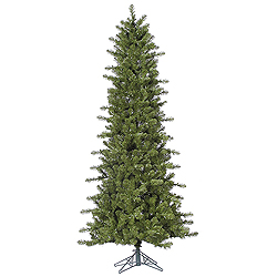 7.5 Foot Slim Ontario Spruce Artificial Christmas Tree