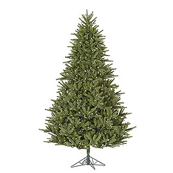 9 Foot Berkshire Fir Artificial Christmas Tree 1150 LED Warm White Lights