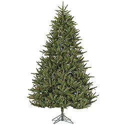 9 Foot Berkshire Fir Artificial Christmas Tree 1150 LED Mu Light i Lights