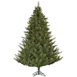 4.5 Foot Modesto Mixed Pine Artificial Christmas Tree Unlit