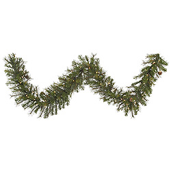 9 Foot Modesto Mixed Pine Garland