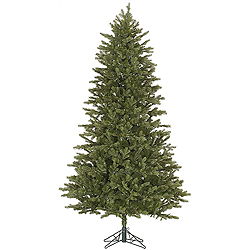 12 Foot Slim Balsam Fir Artificial Christmas Tree Unlit