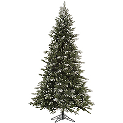 6.5 Foot Frosted Balsam Fir Artificial Christmas Tree Unlit