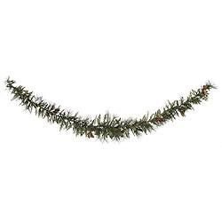 9 Foot Vallejo Mixed Berry Swag Garland