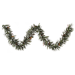 9 Foot Vallejo Mixed Berry Garland