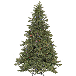 9 Foot Frasier Fir Artificial Christmas Tree 1200 LED Mu Light i Lights