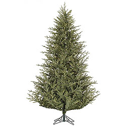 12 Foot Sutter Creek Fir Artificial Christmas Tree 1800 LED Warm White Lights