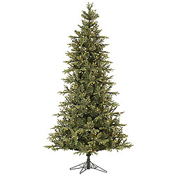 10 Foot Elk Frasier Fir Artificial Christmas Tree 900 DuraLit Clear Lights