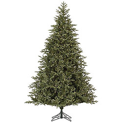 7.5 Foot Elk Frasier Fir Artificial Christmas Tree 700 LED Warm White Lights