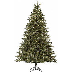 9 Foot Elk Frasier Fir Artificial Christmas Tree 1050 DuraLit Clear Lights