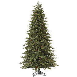 9 Foot Rocky Mountain Fir Artificial Christmas Tree Unlit