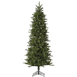 6.5 Foot Carolina Pencil Spruce Artificial Christmas Tree Unlit