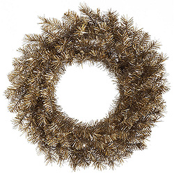 24 Inch Metal Mix Tinsel Wreath