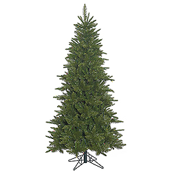 7.5 Foot Slim Durango Spruce Artificial Christmas Tree Unlit