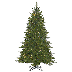 6.5 Foot Durango Spruce Artificial Christmas Tree 600 LED Warm White Lights