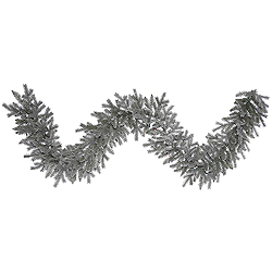 9 Foot Frosted Sable Pine Garland