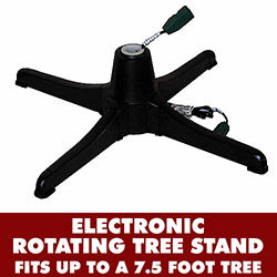 Electric Rotating Tree Stand Black