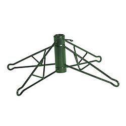 6 Inch Green Plastic Tree Stand Fits 3 Foot To 4 Foot Trees