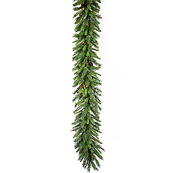 9 Foot Cheyenne Garland With Pine Cones