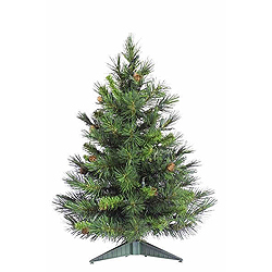 3 Foot Cheyenne Artificial Christmas Tree Unlit