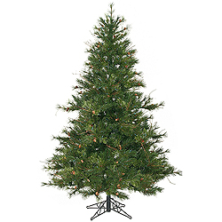 6.5 Foot Mixed Country Pine Artificial Christmas Tree Unlit