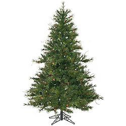 7.5 Foot Mixed Country Pine Artificial Christmas Tree Unlit