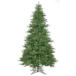 9 Foot Slim Mixed Country Pine Artificial Christmas Tree Unlit