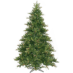 9 Foot Mixed Country Pine Artificial Christmas Tree Unlit