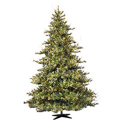 10 Foot Mixed Country Pine Artificial Christmas Tree Unlit