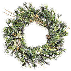 20 Inch Mixed Country Pine Wreath