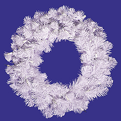 20 Inch Crystal White Spruce Wreath