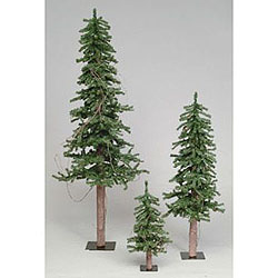 4 foot alpine artificial christmas tree unlit