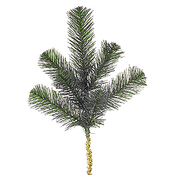 15 Inch Douglas Fir Artificial Christmas Spray 6 per Set