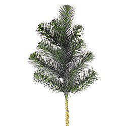 18 Inch Douglas Fir Artificial Christmas Spray 6 per Set