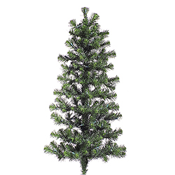 48 Inch Douglas Fir Artificial Christmas Wall Tree Unlit