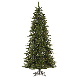 8.5 Foot Camdon Slim Artificial Christmas Tree 800 DuraLit Clear Lights