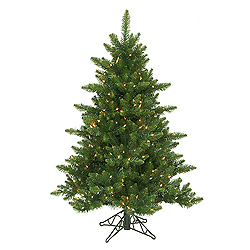 4.5 Foot Camdon Fir Artificial Christmas Tree 200 LED Warm White Lights