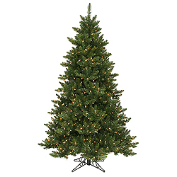 6.5 Foot Camdon Fir Artificial Christmas Tree 600 LED Warm White Lights