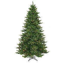 7.5 Foot Camdon Fir Artificial Christmas Tree 800 LED Multi Lights