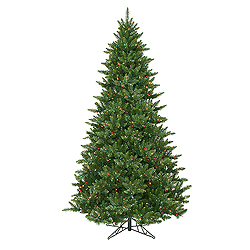 12 Foot Camdon Fir Artificial Christmas Tree 2100 DuraLit Multi Lights