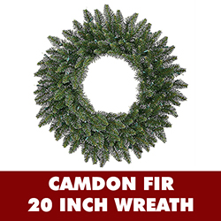 20 Inch Camdon Fir Wreath