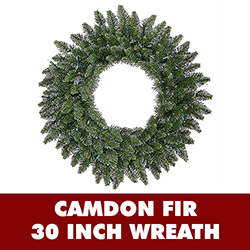 30 Inch Camdon Fir Wreath